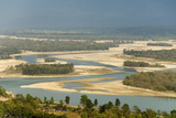 River Ganges Emerging from Himalayas at Haridwar
