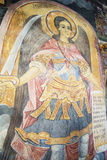 Church of the Holy Virgin  Mural Frescos by Zahari Zograf  Troyan Monastery  Bulgaria  Europe