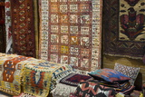 Traditional Rugs for Sale  Grand Bazaar  Istanbul  Turkey  Western Asia