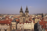 Czech Republic  Prague  Old Town Square  Church of Our Lady before Tyn