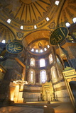Interior of Hagia Sophia (Aya Sofya Mosque) (The Church of Holy Wisdom)