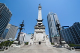 Soldiers' and Sailors' Monument  Indianapolis  Indiana  United States of America  North America