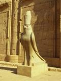 Temple of Horus  Idfu  Aswan  Egypt