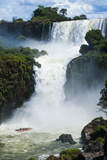 The Iguazu Waterfalls  Iguazu National Park  UNESCO World Heritage Site  Argentina  South America
