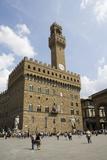 Palazzo Vecchio on the Piazza Della Signoria