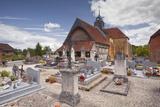 Half Timbered Church of Eglise Saint-Marcel-Et-Notre-Dame-De-L'Assomption De Chauffour-Les-Bailly