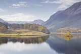 The Still Waters of Crummock Water in the Lake District National Park