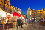 Market Square  Historic Old Town  Poznan  Poland  Europe