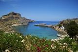 St Paul Beach Lindos  Rhodes  Dodecanese  Greek Islands  Greece  Europe