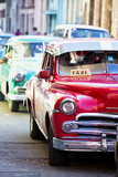 Vintage American Cars Used as Local Taxis