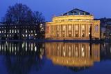 Staatstheater (Stuttgart Theatre and Opera House) at Night