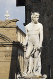 Statue of Neptune  on the Piazza Della Signoria  Florence (Firenze)  Tuscany  Italy  Europe