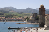 Beach and Eglise Notre-Dame-Des-Anges