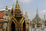 The Temple of the Emerald Buddha  Grand Palace  Bangkok  Thailand  Southeast Asia  Asia