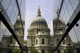 St Paul's Cathedral Taken from the One New Change Shopping Complex in the City of London