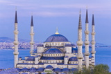 Elevated View of the Blue Mosque (Sultan Ahmet Camii)