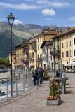 Sunday Morning Meeting  Domaso  Italian Lakes  Lombardy  Italy  Europe