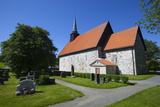 Stiklestad Church  Near the Scene of the Famous Battle of Stiklestad  Verdal