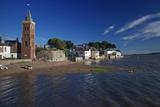 Peters Tower  the Harbour  Lympstone  Exe Estuary  Devon  England  United Kingdom  Europe