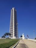 Jose Marti Monument  Plaza De La Revolucion  Havana  Cuba