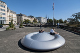 Doughnut Bench  Luxembourg City  Luxembourg  Europe