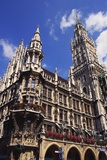 Gothic Town Hall  Munich  Bavaria  Germany
