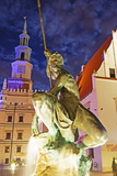 Statue of Mars  Historic Old Town  Poznan  Poland  Europe