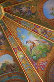 Decorative Ceilings in Bathing Pavilion