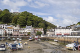 St Aubin and its Harbour  Jersey  Channel Islands  United Kingdom  Europe
