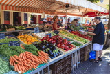 The Morning Fruit and Vegetable Market in Cours Saleya