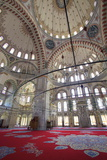 Interior  Fatih Mosque  Istanbul  Turkey  Europe