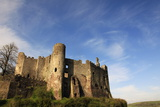 Laugharne Castle  Pembrokeshire  Wales  United Kingdom  Europe
