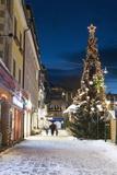 Christmas Market  Haupt Square  Schladming  Steiermark  Austria  Europe