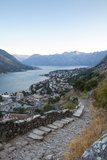 Kotor Old Town and Fortifications at Sunrise