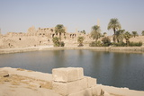Sacred Lake  Temple of Karnak  Karnak