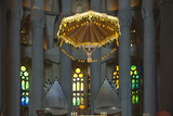 Interior View  Towards the Altar and Grand Organ  Sagrada Familia