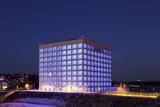 New Library at Mailander Platz Square