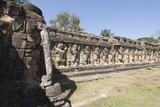 Elephant Terrace  Angkor Thom  Siem Reap  Cambodia