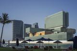 New Business Center on Al-Maryah Island  Abu Dhabi  United Arab Emirates  Middle East