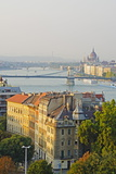 Banks of the Danube  UNESCO World Heritage Site  Budapest  Hungary  Europe