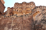 The Mehrangarh Fort of Jodhpur  Rajasthan  India  Asia