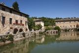 Thermal Spring in the Village of Bagno Vignoni