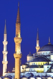 Blue Mosque (Sultan Ahmet Camii)  UNESCO World Heritage Site  Istanbul  Turkey  Europe
