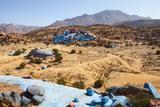 Painted Rocks  Work of the Belgian Artist Jean Veran  Aguerd Oudad