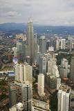 City and Petronas Towers