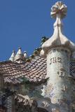 Roof Detail of Casa Batllo