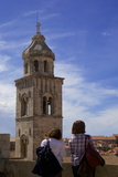 The 14th Century Tower of the Dominican Monastery Inside the Old Town of Dubrovnik