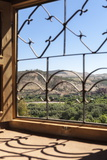 A View of the Ourika Valley as Glimpsed Through the Window of a Traditional Berber House