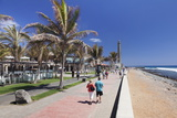 Promenade and Lighthouse Faro De Maspalomas
