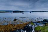 Strange Twilight Seascape of Loch Dunvegan on the Isle of Skye